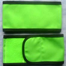 Plain Wrap Armband - Lime & Black
